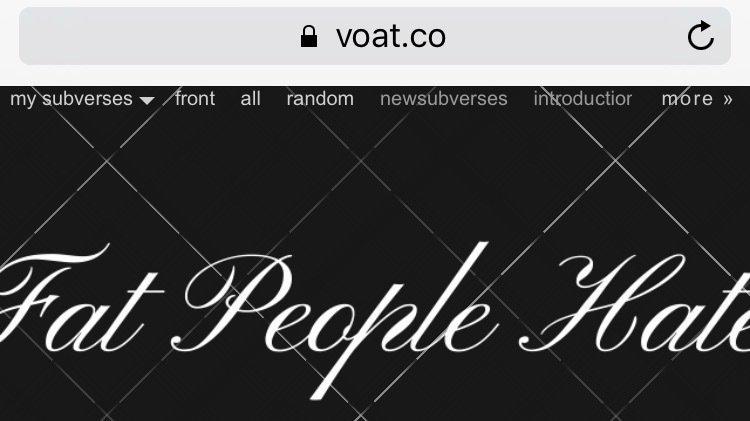 Petition · Let your voice be heard! voat co please shut down https