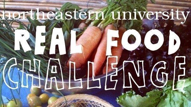 northeastern university the real food challenge