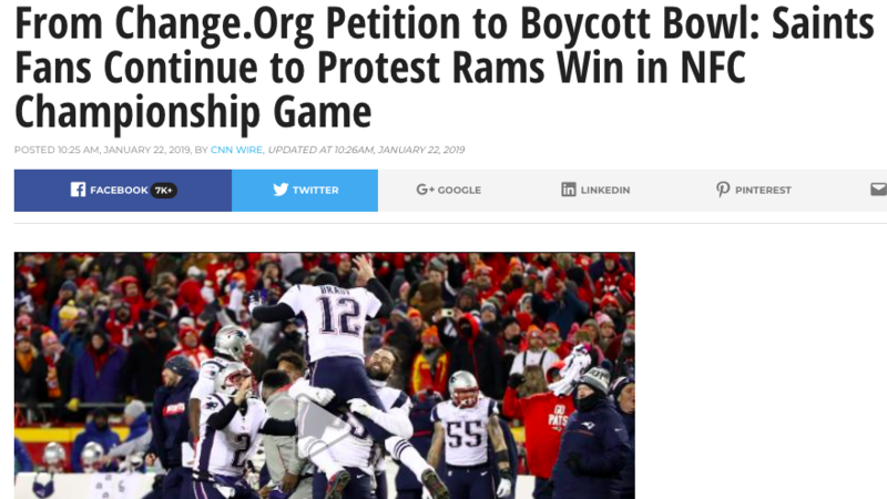 94e0c0c12349e4 Hundreds of Thousands of Football Fans Take a Stand on Officiating in the  NFL