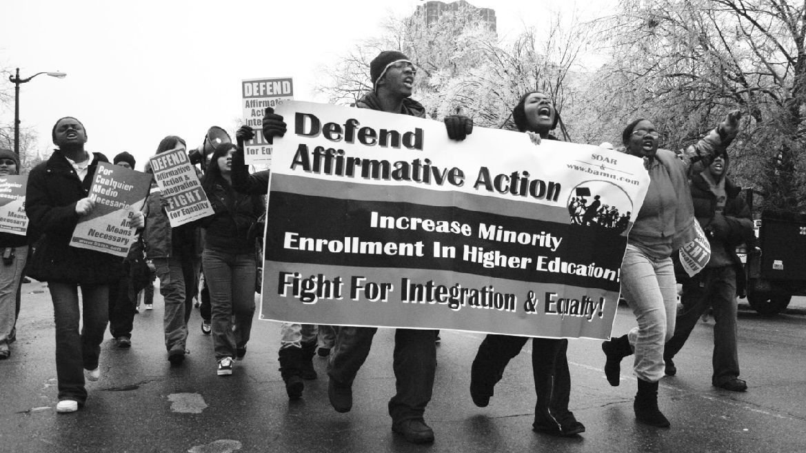 affirmative action topics