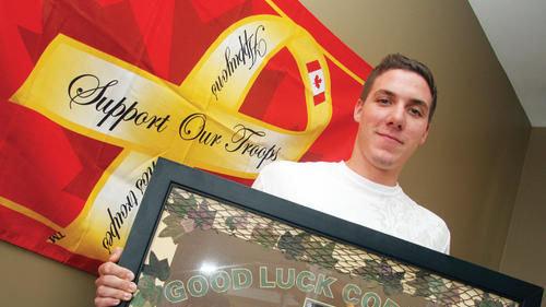 John Nicholason Afghanistan Tour Of Duty