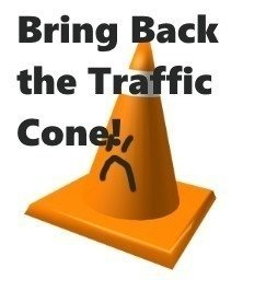 Petition Roblox Corporation Make The Roblox Traffic Cone Limited