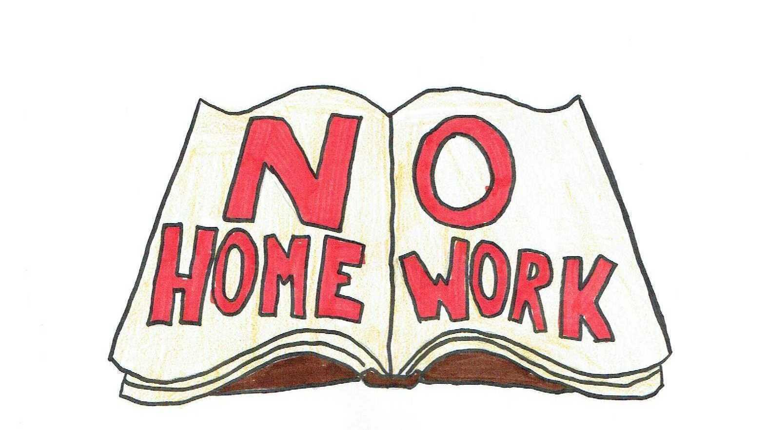 no more homework No homework is the wrong question  after the end of the school day to help ensure that students retain what they have learned and are primed to learn more any answer with the word, work in its name, as in homework, is not typically going to be met with eagerness or enthusiasm by students  edutopia® and lucas education research.