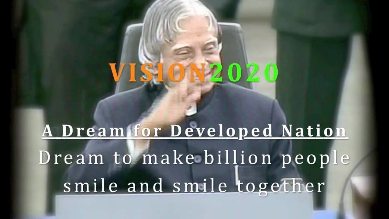 my vision for india essay abdul kalam On the occasion of president a p j abdul kalam's 73rd birthday, rediffcom invited readers' views on how the president's vision to make india a superpower by the .