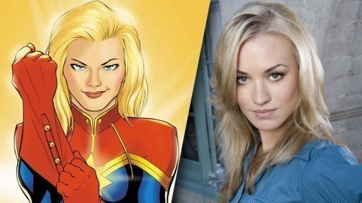 captain marvel yvonne