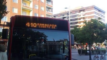 Petición · Ayuntamiento de Cuarte de Huerva: Ampliar horarios línea ...