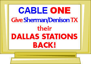 Petition · Give the people of Sherman/Denison, Texas their Dallas TV
