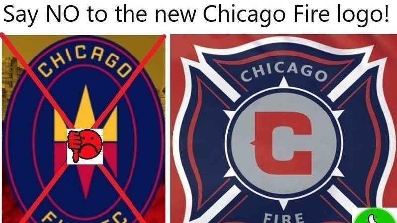 Petition Bring Back The Old Chicago Fire Logo Change Org