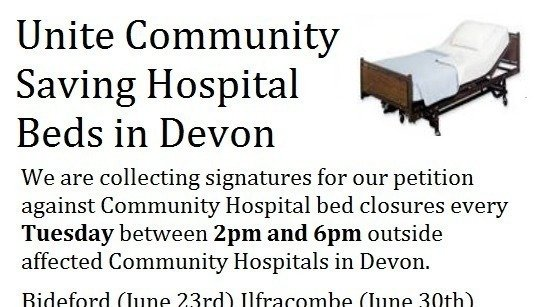 Petition  Save DevonS Community Hospitals Beds And Services