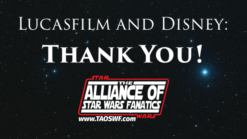 petition the walt disney company lucasfilm and disney thank you