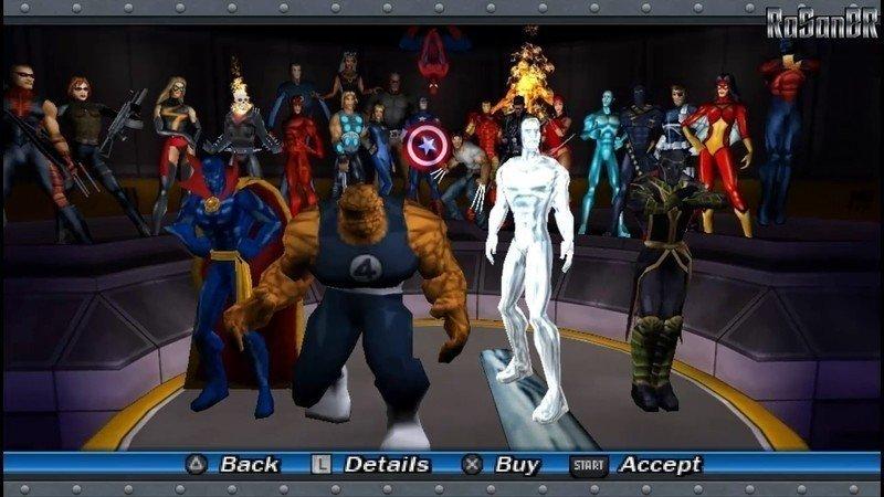 marvel ultimate alliance патч