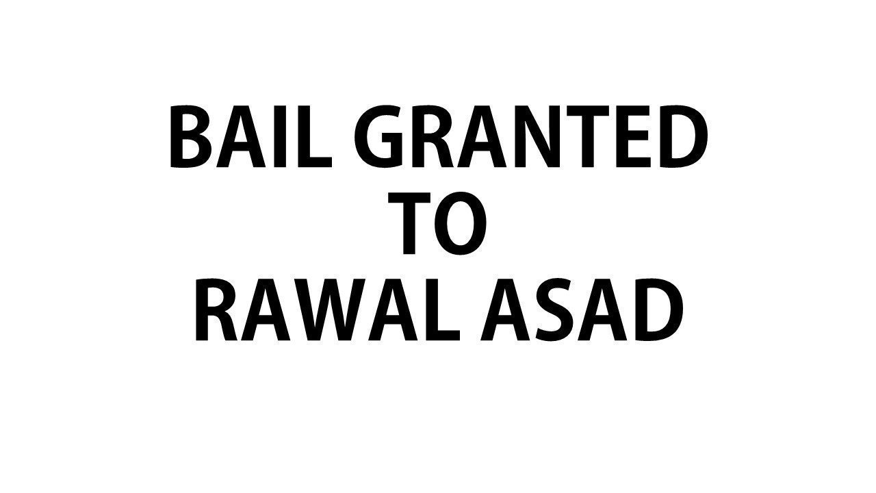 Petition update · Bail request of Rawal refused, meaning that he