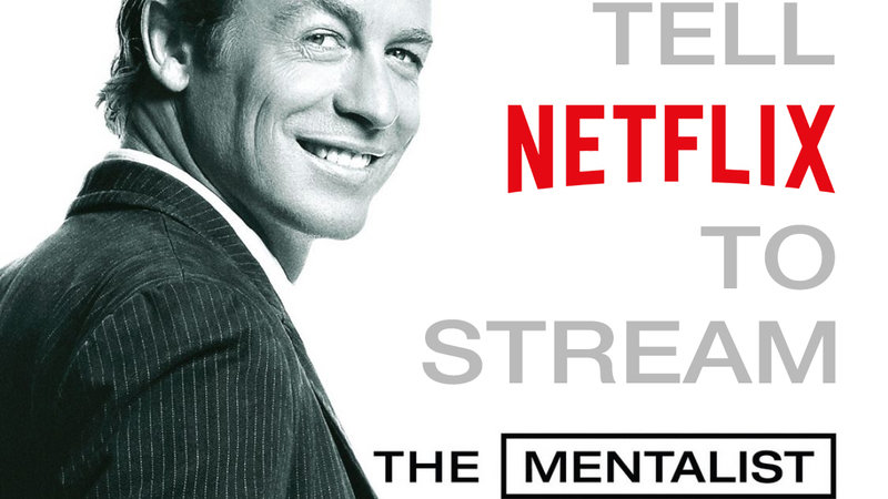 Petition · Netflix: Ask Netflix to Stream 'The Mentalist