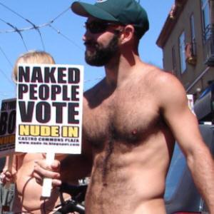 Nudity public Facial
