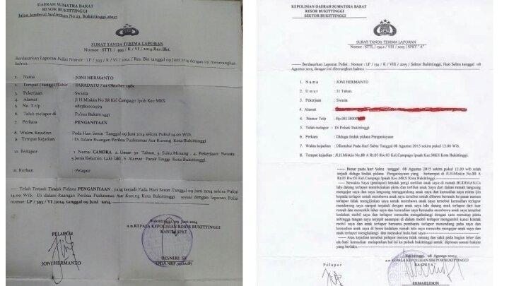 Petisi Menindak Lanjuti Laporan Saya Changeorg