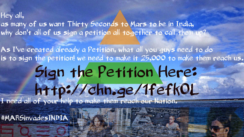 Petition · Put India on LLFD Tour Schedule · Change org