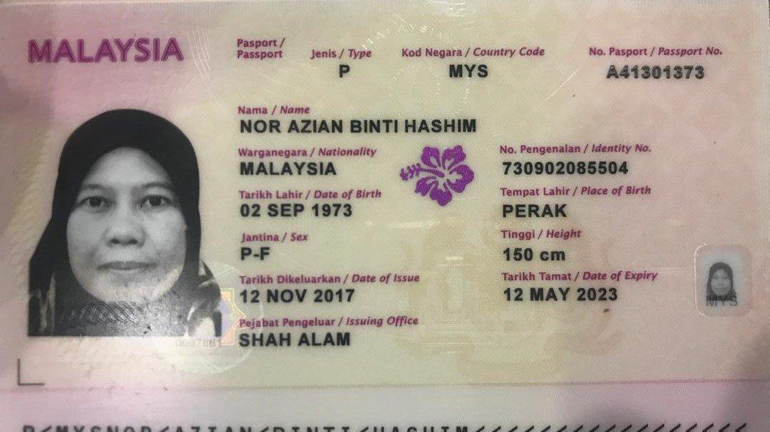 Petition · Nor Azian Hashim dan Ammar Travel & Tours Sdn Bhd ...