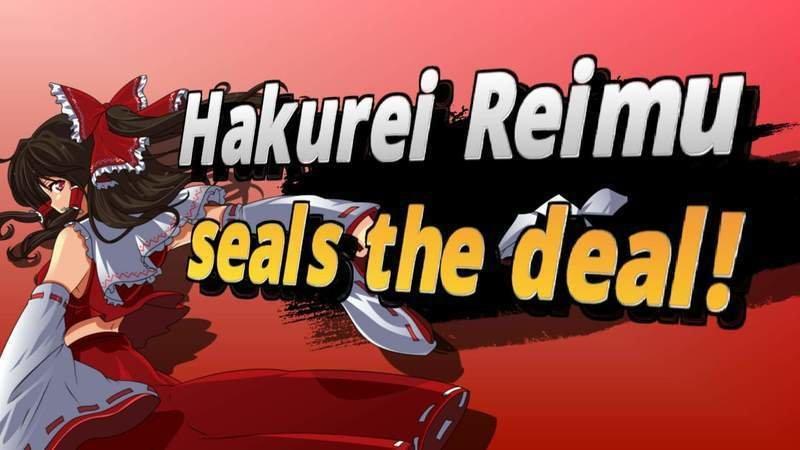 Image result for reimu hakurei smash