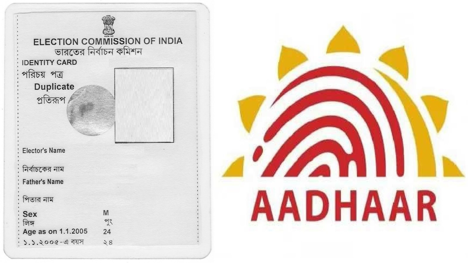 Petition · Link Voter Id Card with Aadhar Card in India · Change.org