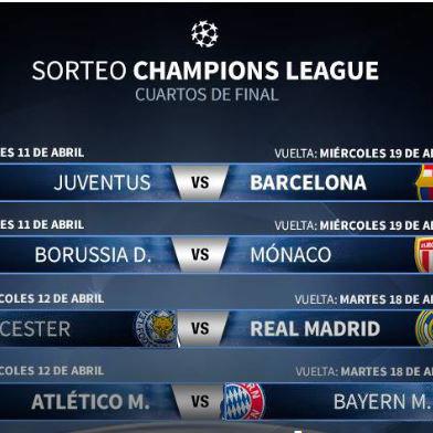 Supporter comments · UEFA : Repetir el sorteo de Cuartos de Final ...