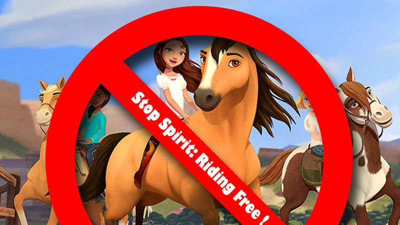 DreamWorks Girls Spirit Riding Free Dress