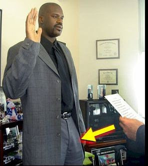 how big is shaquille o neal dick