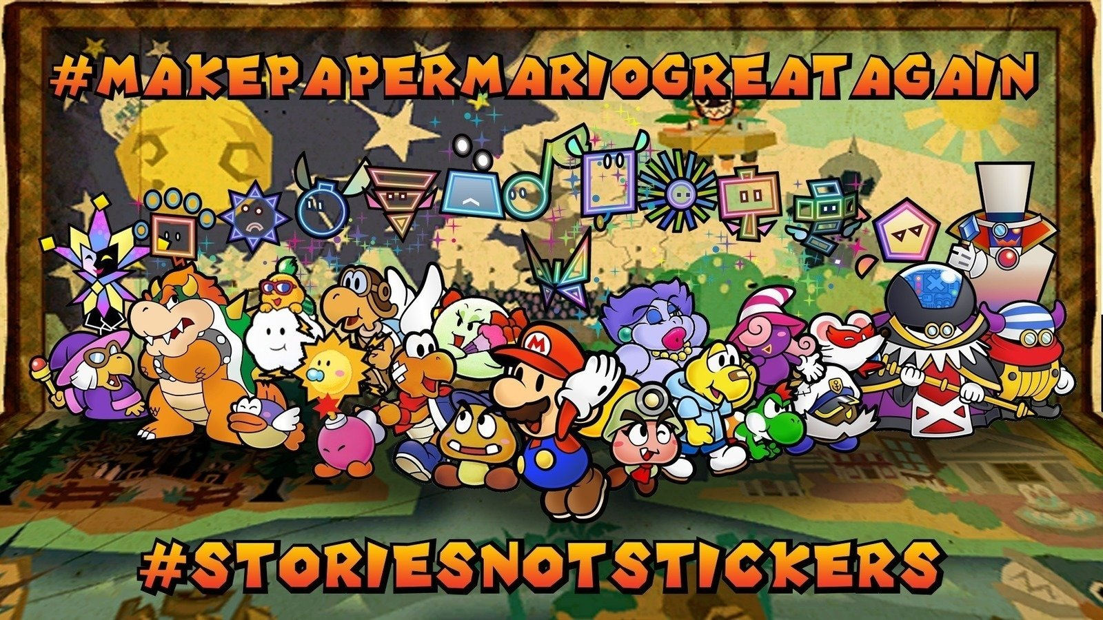 Petition Intelligent Systems Return The Paper Mario Series To