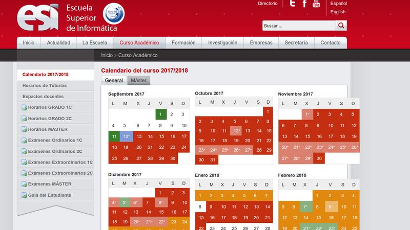 Calendario Academico Uclm 2020 18.Calendario Academico Uclm
