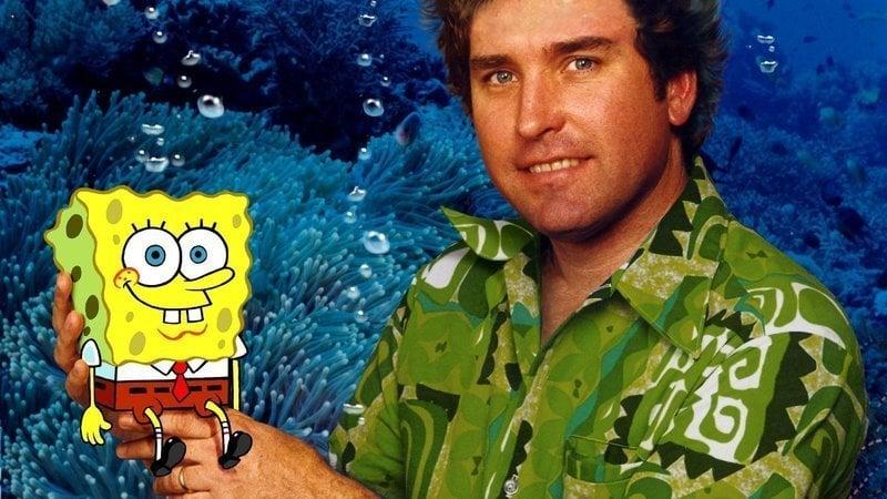 Stephen Hillenburg and SpongeBob SquarePants