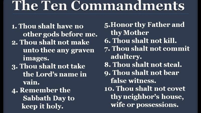 petition bring the ten commandments back into our schools