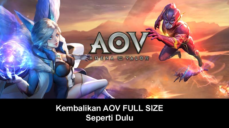 download apk dan data aov terbaru