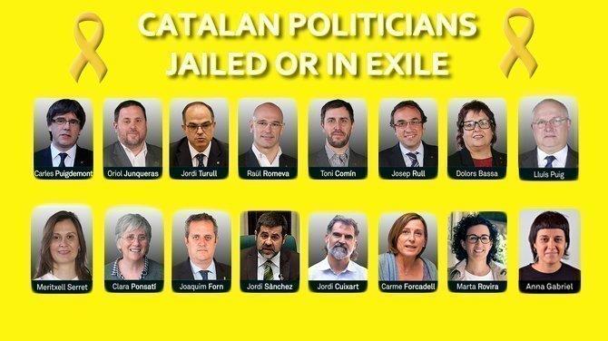 Image result for llibertat presos polítics i exiliats