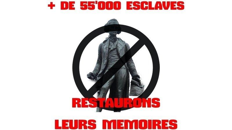 Pétition - On ne veut plus de statue d'esclavagiste! Pour que la statue de David de Pury soit retirée