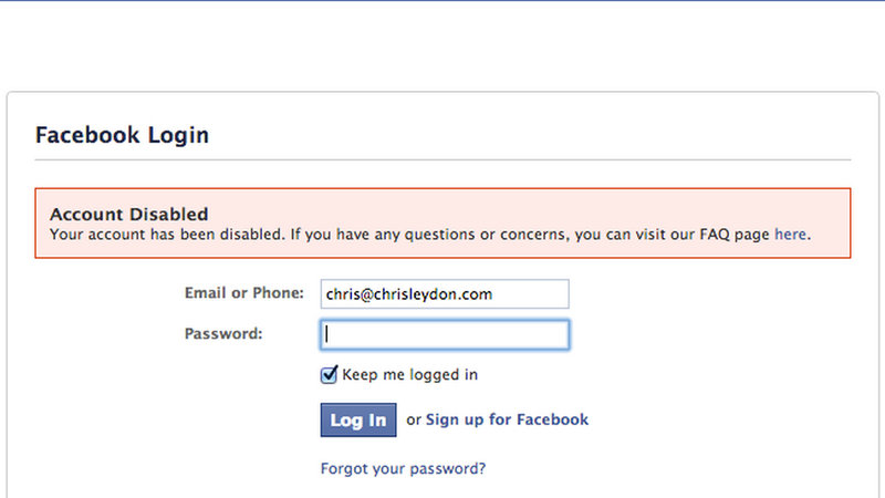 Petition · Facebook: Restore The Disabled Facebook Accounts of