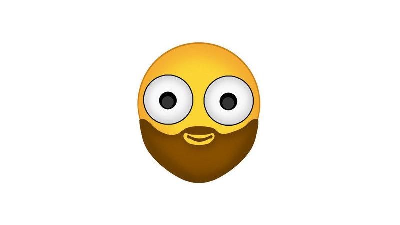 Emojis Need Beards Too