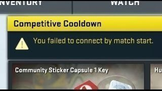 cs go matchmaking cooldown