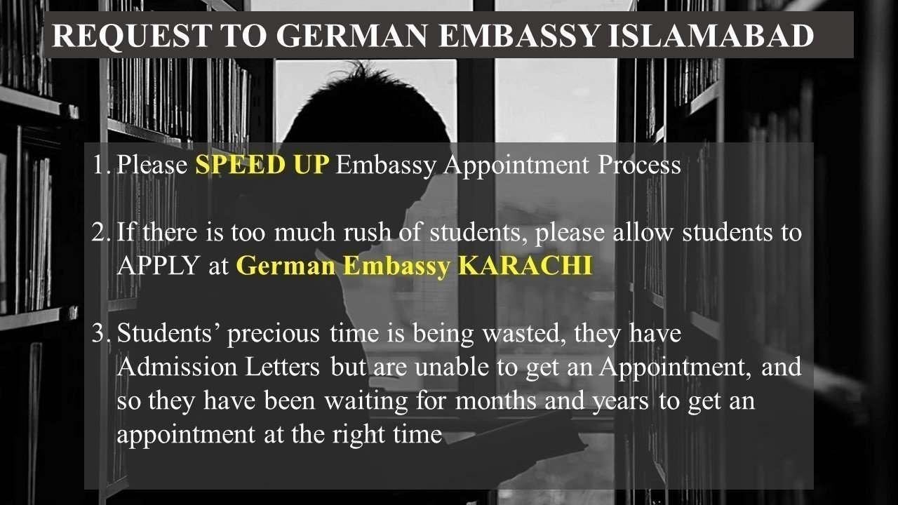 Try These Cancel Appointment German Embassy Islamabad