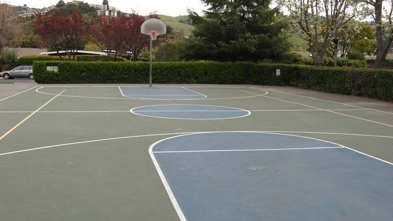 Build An Outdoor Basketball Court In