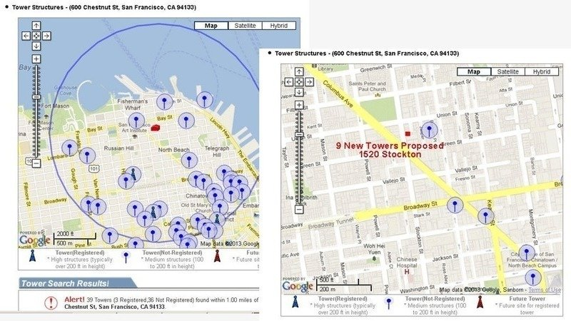 Petition At T Stop New Cellphone Towers In North Beach San