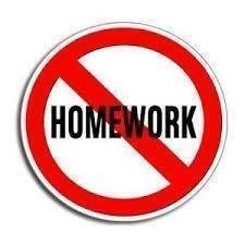 how to get less homework
