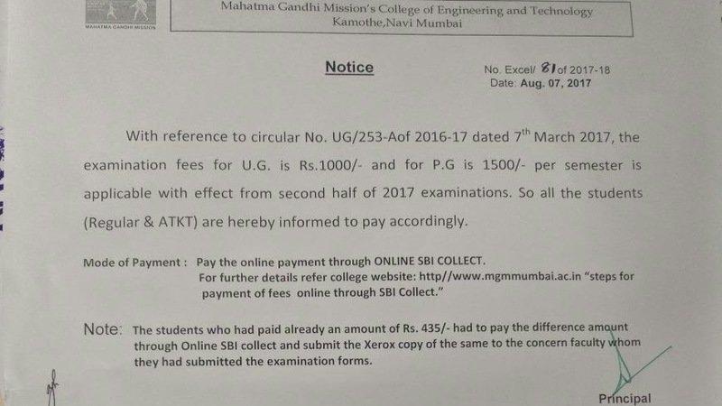 Petition mumbai university lessen the regularkt exam fees for lessen the regularkt exam fees for mu students mainly for general category students malvernweather Images