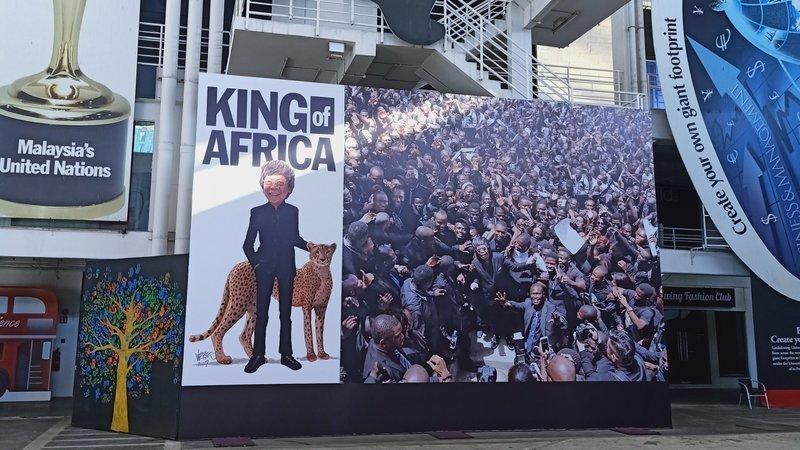 Pamer Iklan Guna Gelaran 'Raja Afrika', Netizen Berang Lim Kok Wing Tidak Sensitif Isu Semasa