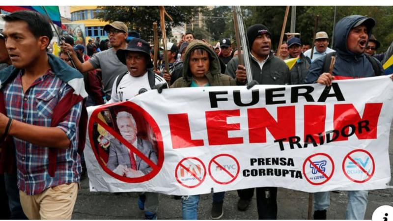 Petición · Derrocar Renuncia Presidente Lenin Moreno · Change.org