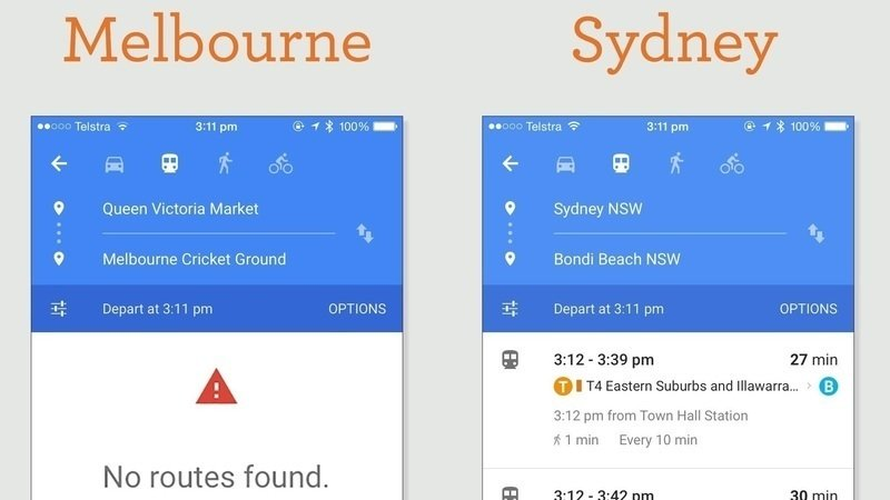 Google maps get directions nsw australia