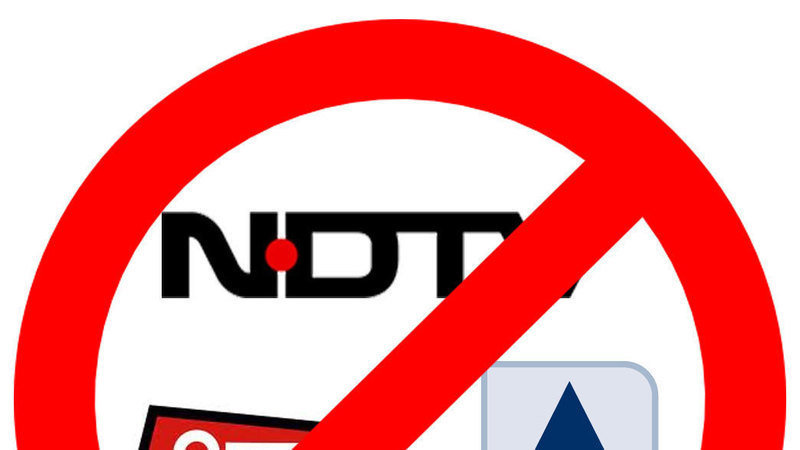 Petition · ABP, AAJtak and NDTV is deliberately doing biased