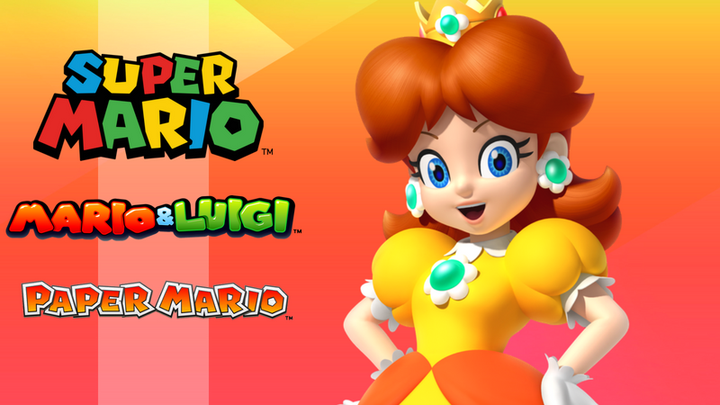 We want princess Daisy in more games and Super Mario games