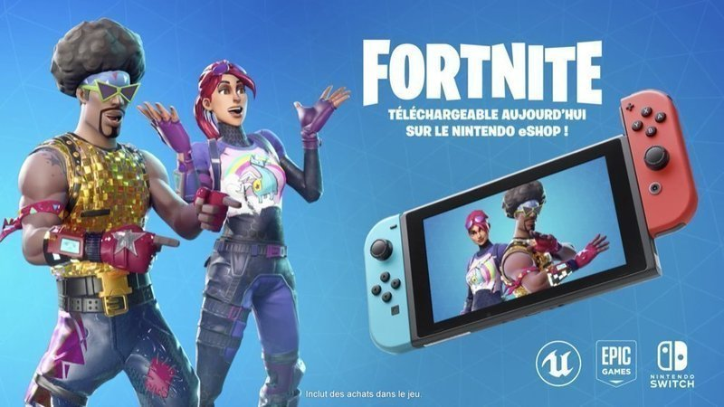 compte epic games ps4 compatible switch - compte fortnite switch