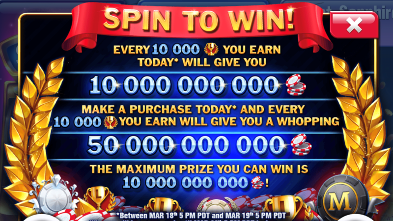 Petition Huuuge Casino Should Honour The Original Spin And Win
