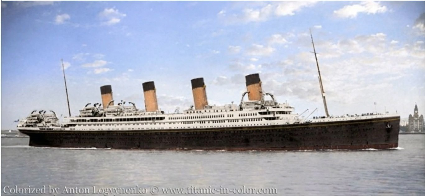 Petition · Rebuild the RMS Britannic, sister ship to the ...