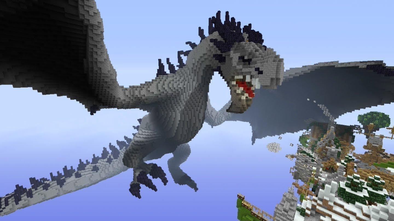майнкрафт скачать драконами